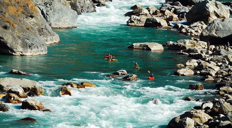 Upper Alaknanda River Rafting Expedition - Tour