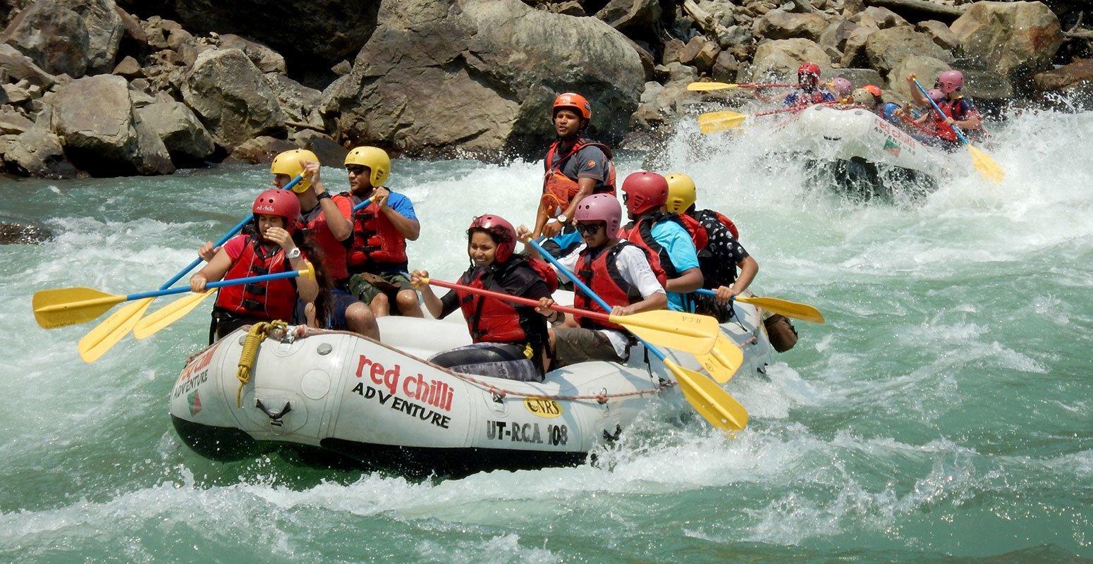 Ganga River Rafting from Kaudiyala (Kodiyala) in Uttarakhand with ...