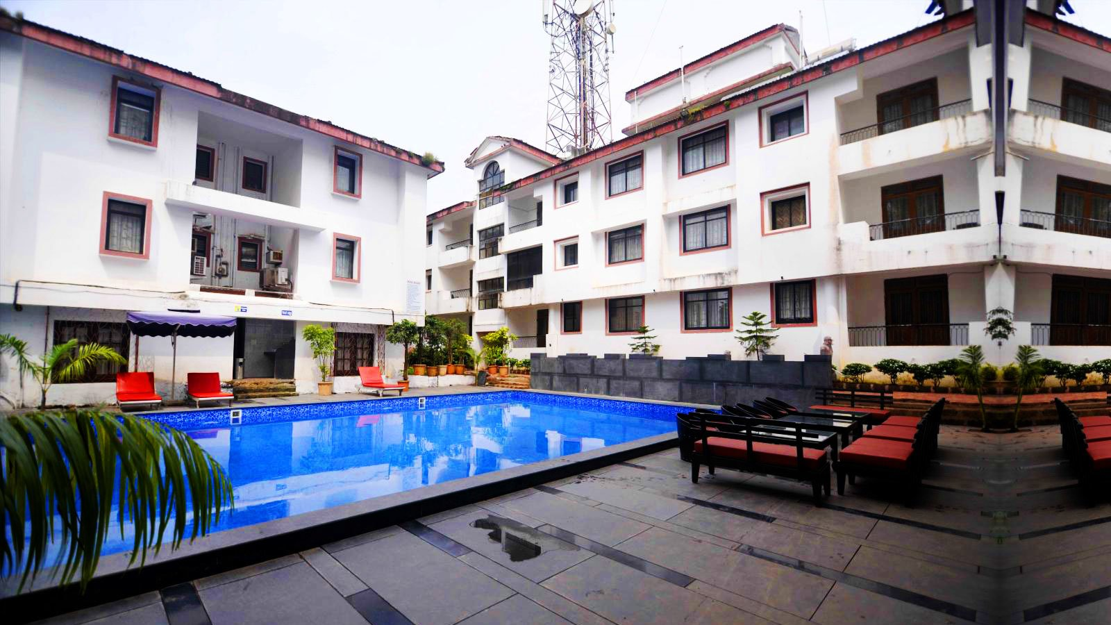 Sunkissed Plaza Goa | Hotel near Calangute Beach