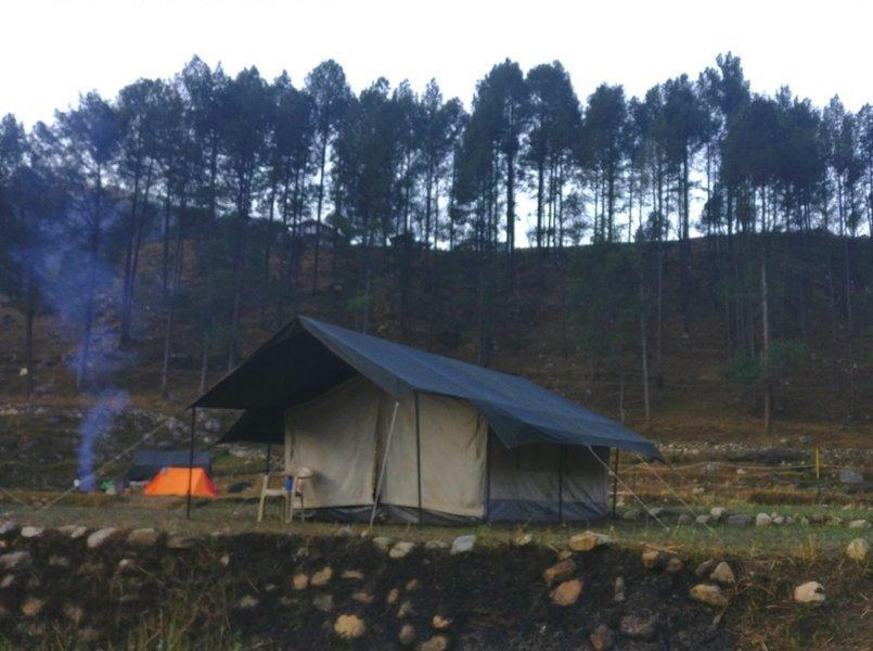 Bull's River Camp, Tons - Tour
