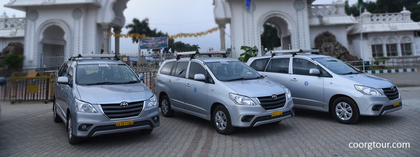 3 Days - Out Station - Mysore / Coorg / Mysore - Tour