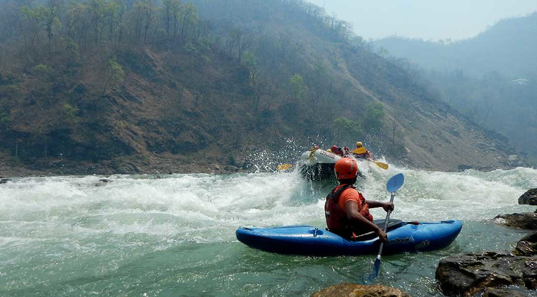 Ganga River Rafting from Shivpuri - Tour