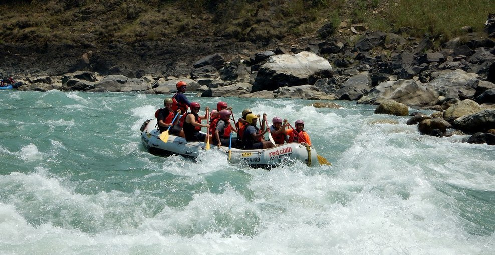 Shivpuri Down White Water Rafting - Tour