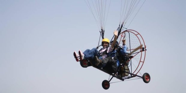 Motorised Paragliding in Goa - Tour
