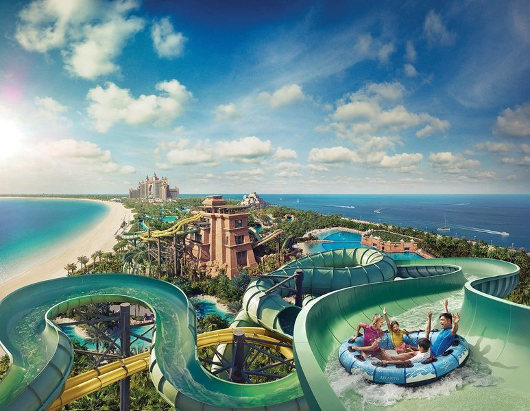 Aquaventure Water Park at Atlantis, Sightseeing in Dubai - Tour