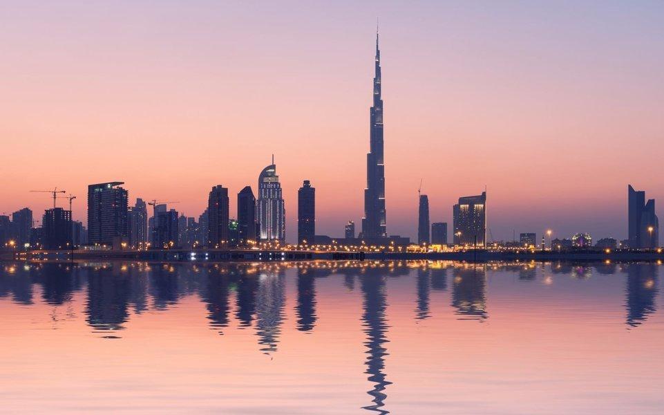 At the Top Burj Khalifa, Sightseeing in Dubai - Tour