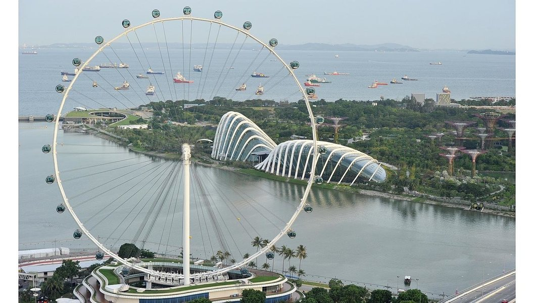 Singapore Flyer, Sightseeing in Singapore - Tour