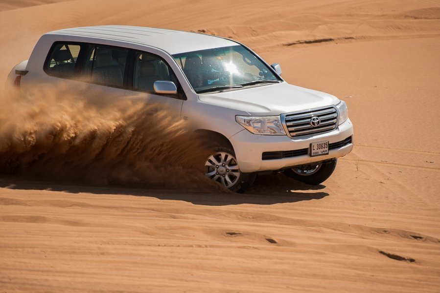 Pemium Red Dunes Desert Safari in Lahbab Desert - Tour