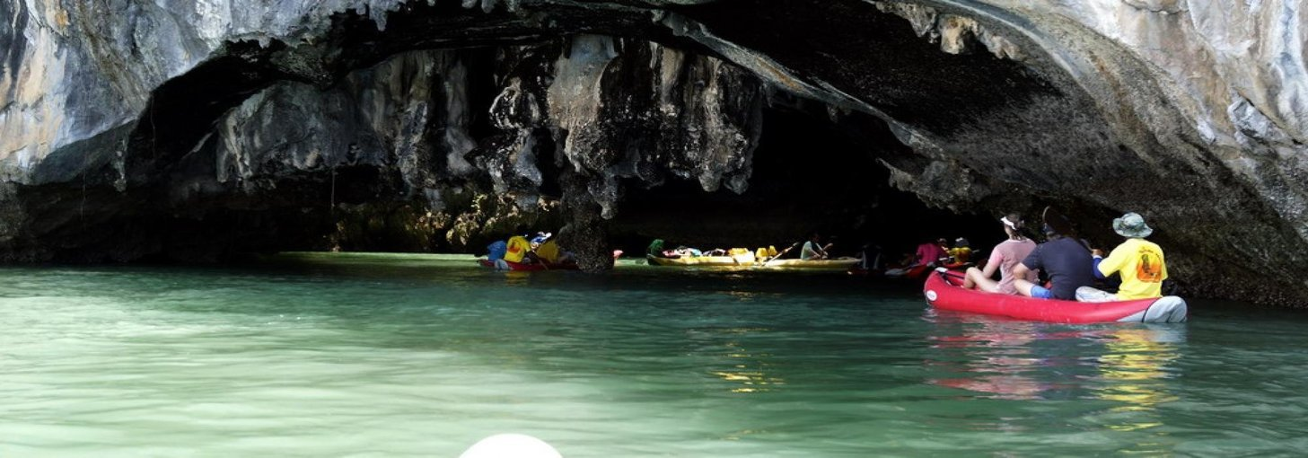 Sea Cave Canoe, Sightseeing in Phuket - Tour