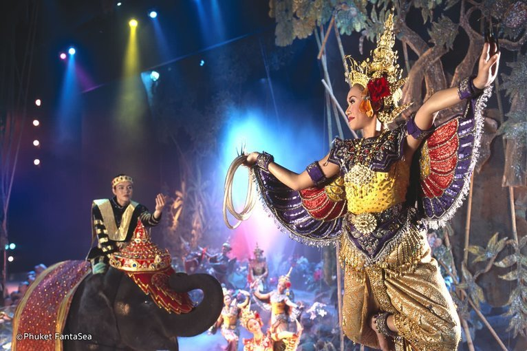 Phuket Fantasea Show, Sightseeing in Phuket - Tour