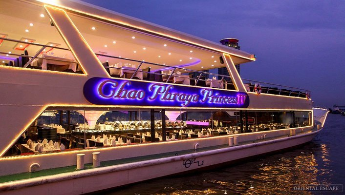 Chao Phraya Princess Dinner Cruise & Transfer (International/Indian Buffet) - Tour