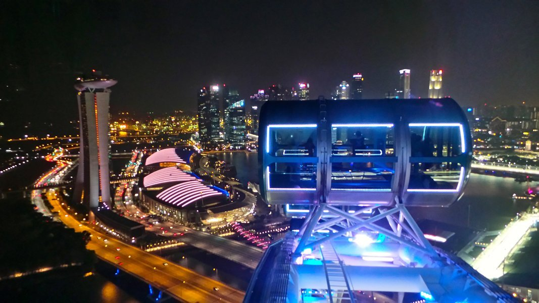 Dinner at Flyer, Honeymoon Specials in Singapore - Tour