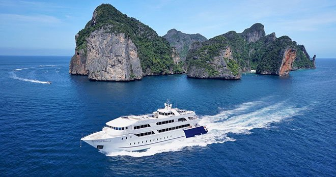 Phi Phi Island Tour by Sea Angle(Big Boat) One Day Trip Indian Lunch - Tour