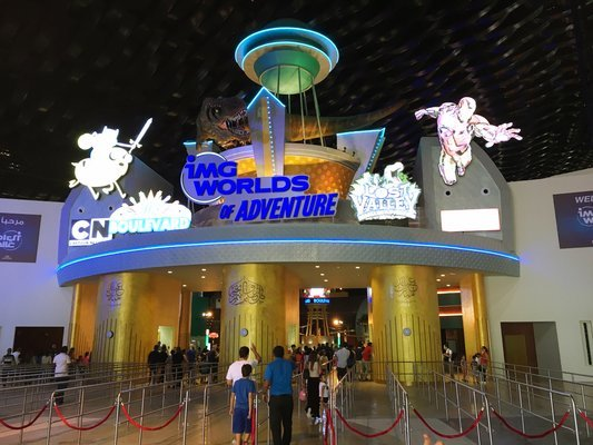 IMG World of Adventure Tickets in Dubai - Tour