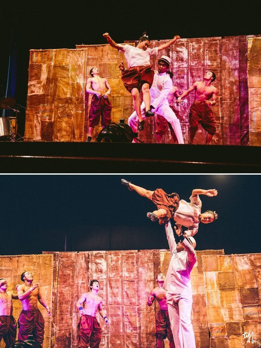 The Cambodian Phare Circus Show with Tuk Tuk Ride, Sightseeing in Siem Reap - Tour