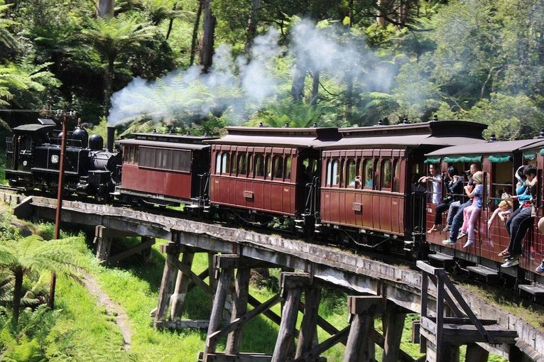 Puffing Billy Heritage Steam Train Journey, Sightseeing in Melbourne - Tour