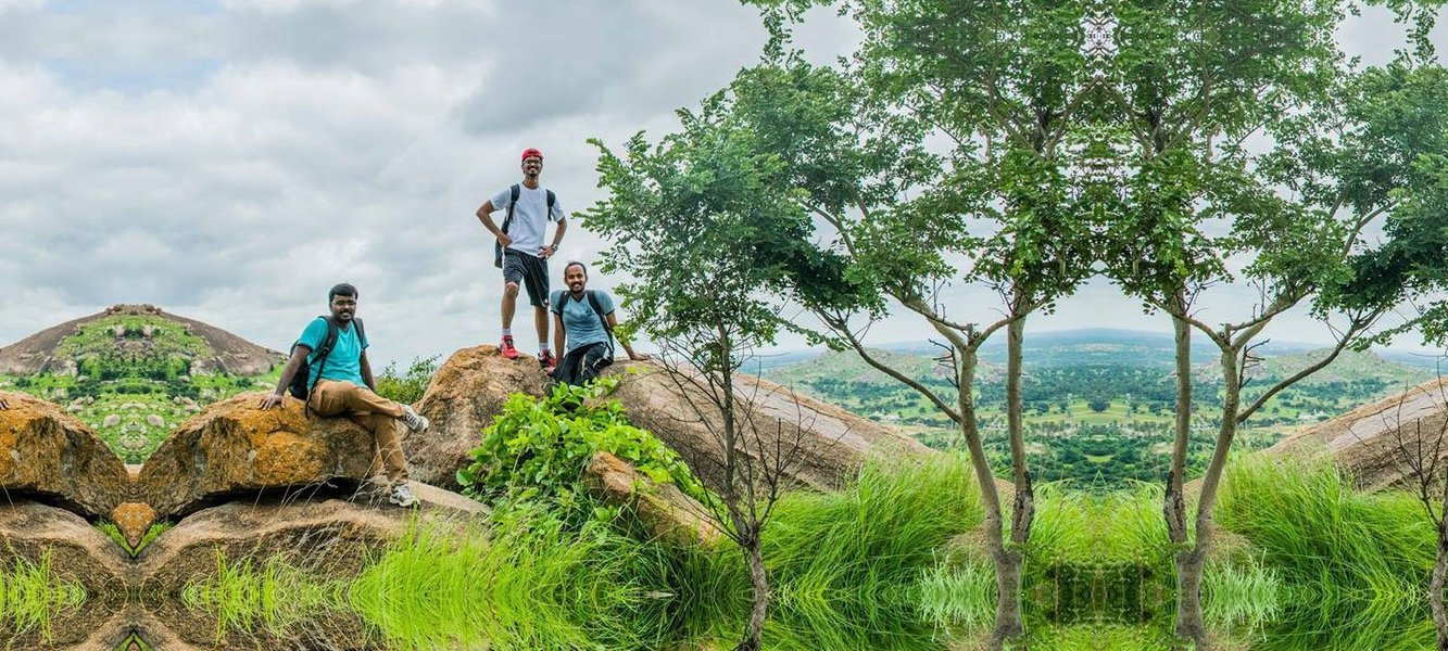 Day Trek to Hanuman Betta - Tour
