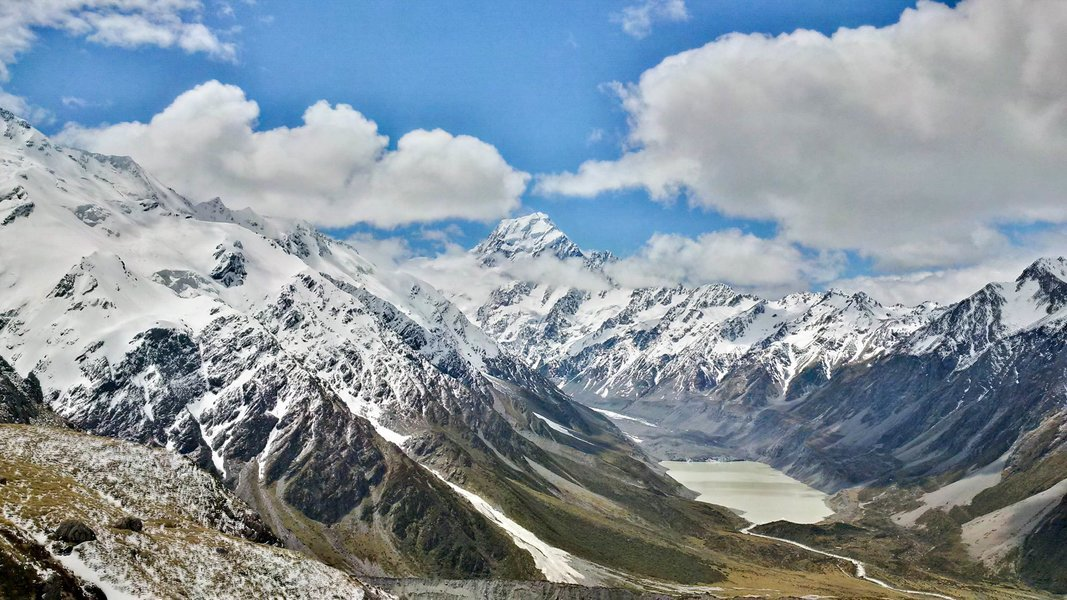 Mount Cook to Christchurch Day Tour (One Way), Sightseeing in Mount Cook - Tour