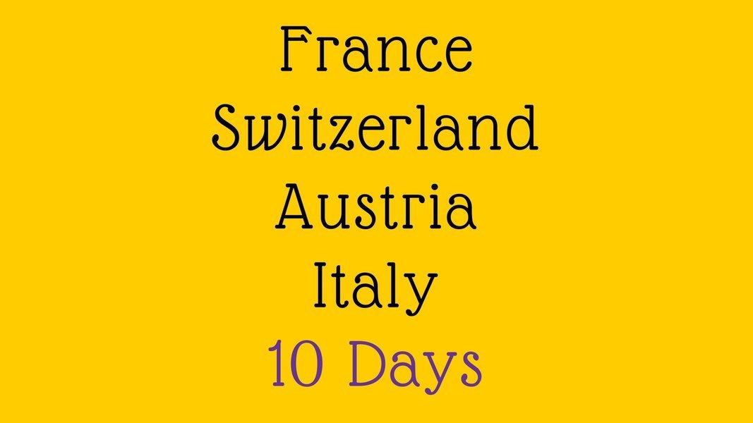 Paris to Rome 10 Days - Group Departure - Tour