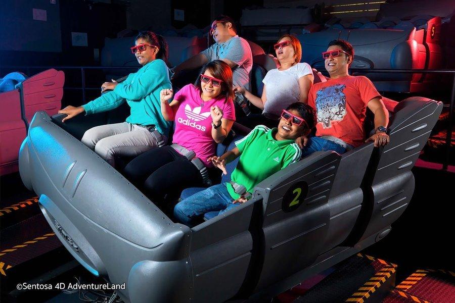 Sentosa 4D Adventure Land Tickets in Singapore - Tour