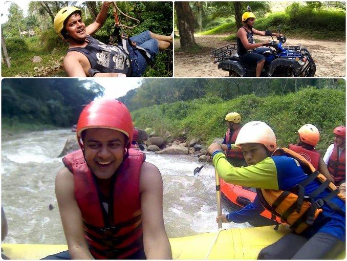 Rafting 5 km | Elephant Treking 30 min | ATV 30 min - Tour