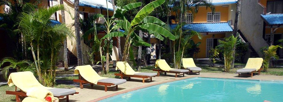 Le Grand Bleu Hotel 03*, Mauritius Resort - Tour