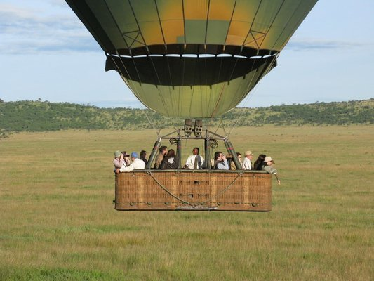Serengeti Hot—air Balloon Safari - Tour