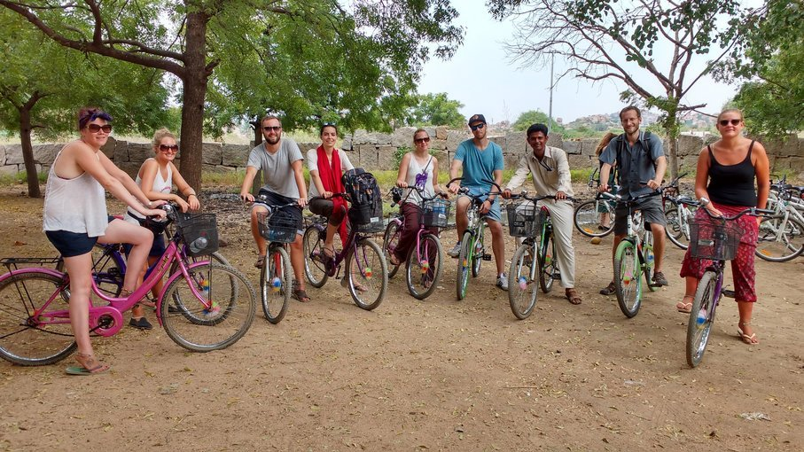 Heritage Bicycle Tour, Sightseeing in Hampi - Tour