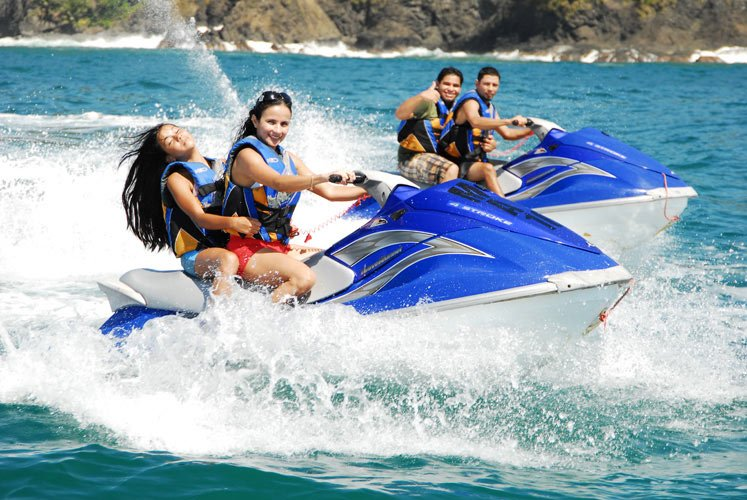 Monsoon Watersports activities in South  Goa - Tour