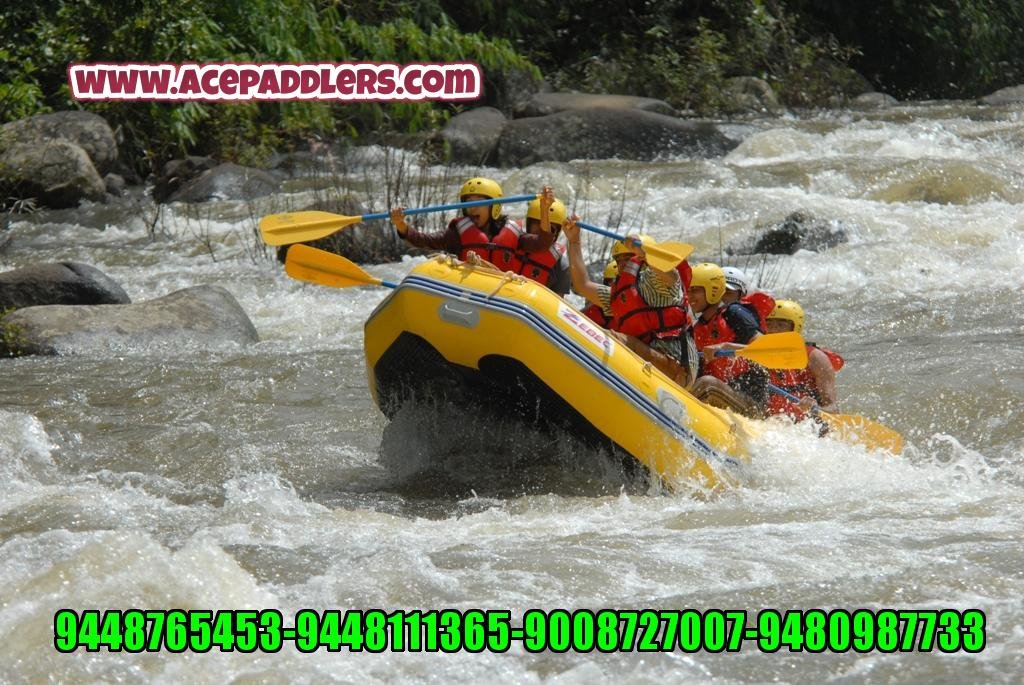 WhiteWaterRafting Barpole-South Coorg