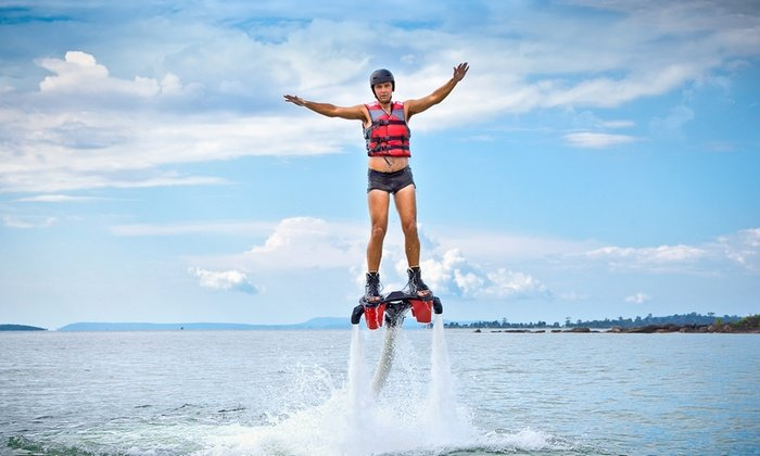 Jetlev Flyer Adventure in Goa - Tour