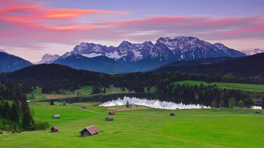 Bavarian Mountains, Sightseeing in Salzburg - Tour