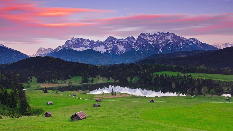 Bavarian Mountains, Sightseeing in Salzburg - Tour
