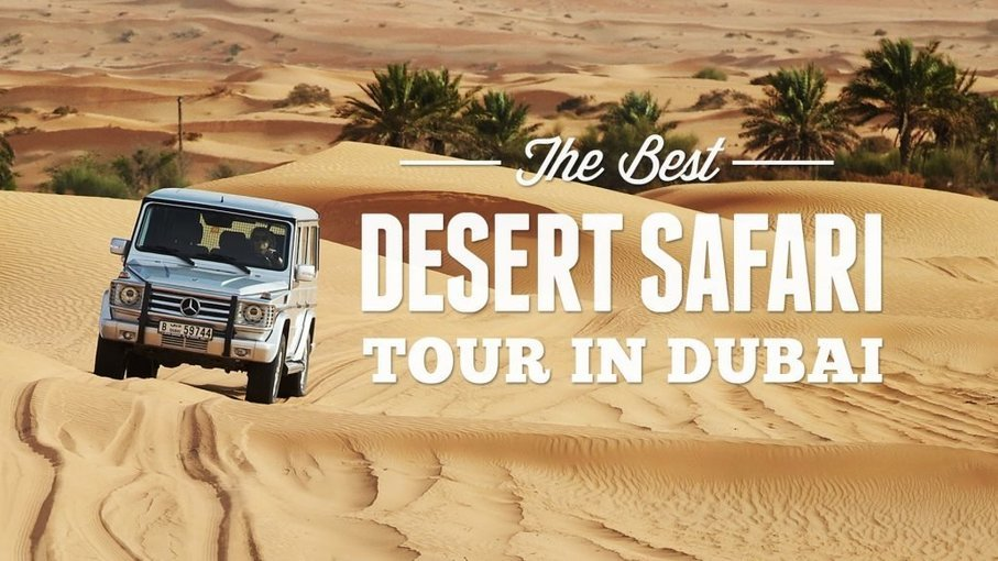 Desert Safari with BBQ Dinner WITH TRANSFER - Tour