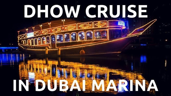Dhow Cruise Dinner - Marina (TICKET ONLY) - Tour