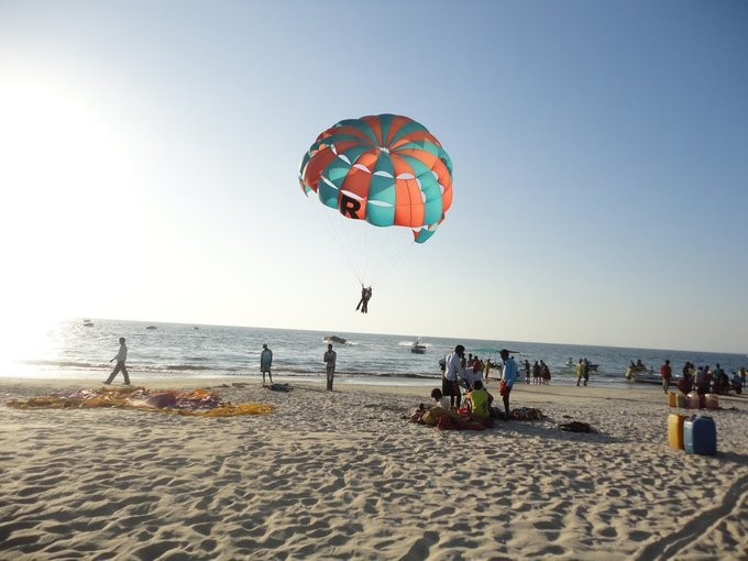Parasailing Tickets in Goa - Tour