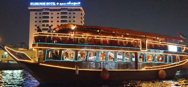 Dhow Cruise Dinner - Creek - Tour