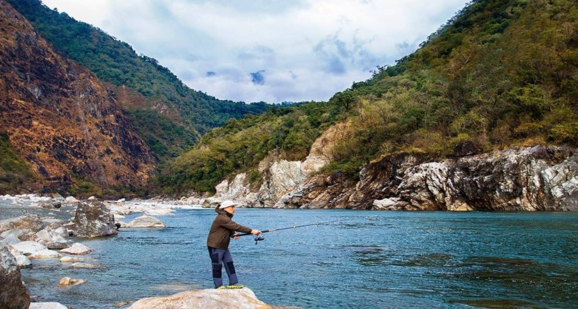 India Angling Dibang Fishing Tour, Mahseer - Tour