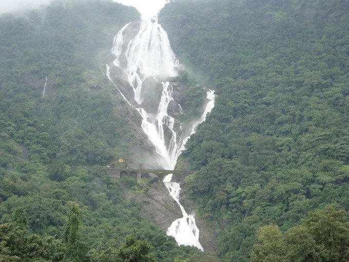 Dudhsagar Waterfalls | Spice Plantation | Jeep Safari - Tour