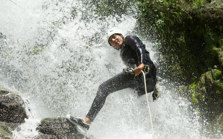 Waterfall Rappelling in Lonavala - Tour