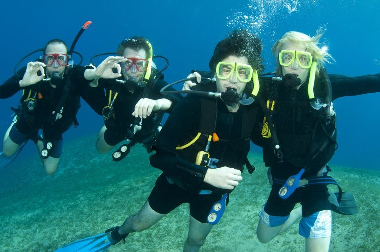 Scuba Diving at Grande Island | With Pick-up Drop & Food - Tour