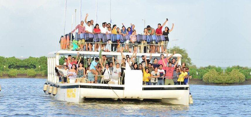 Party Boat I Dolphin Safari I Kayaking - Tour