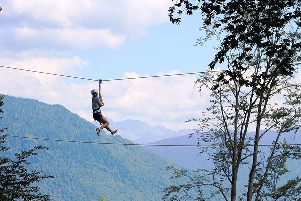 Flying Fox in Rishikesh - Tour