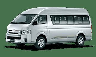 Private van (commuter) - Tour