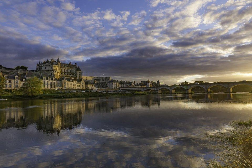 Vale do Loire de bike   05 dias (com guia) - Tour