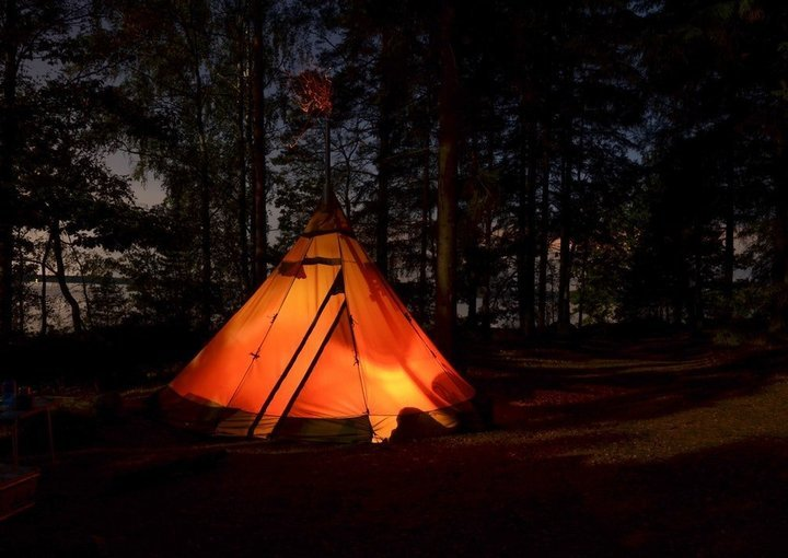 Alpine tent stay in Jungle side type 1 - Tour