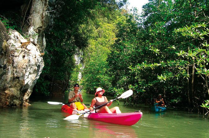 KRABI SEA KAYAKING PLAN A(kayaking at AO Thalane)half day - Tour