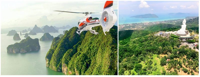 Helicopter Tours Phuket - Tour