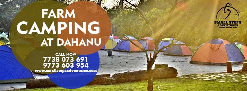 Camping at Orchard Farm, Dahanu - Tour