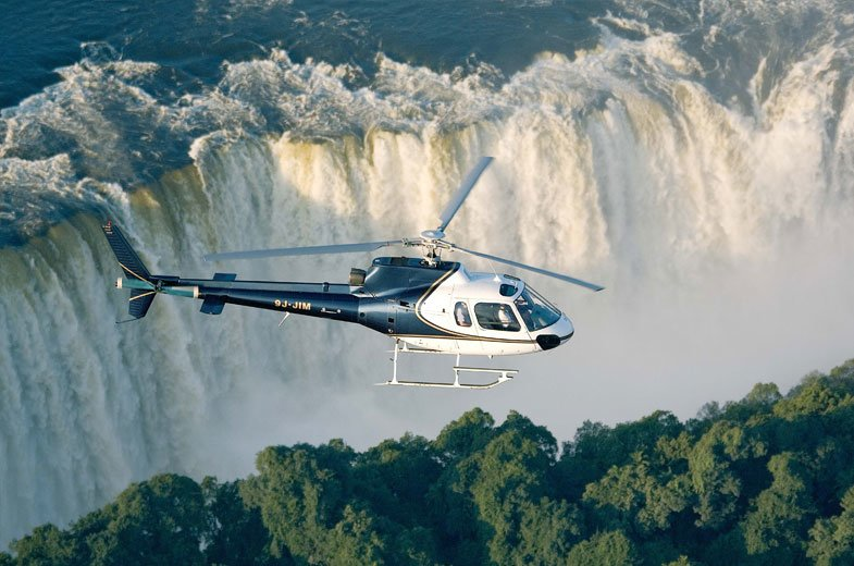 Helicopter & Microlight Flights Over the Victoria Falls - Tour
